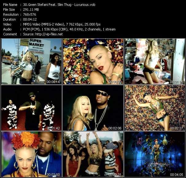 Gwen Stefani Feat. Slim Thug - Luxurious