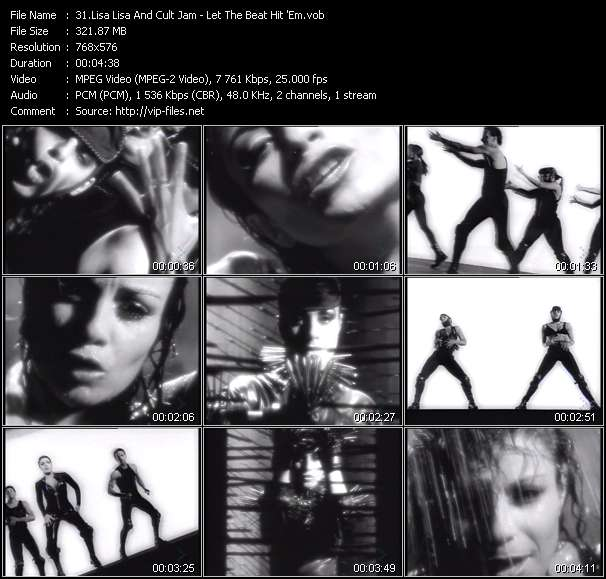 Lisa Lisa And Cult Jam - Let The Beat Hit 'Em