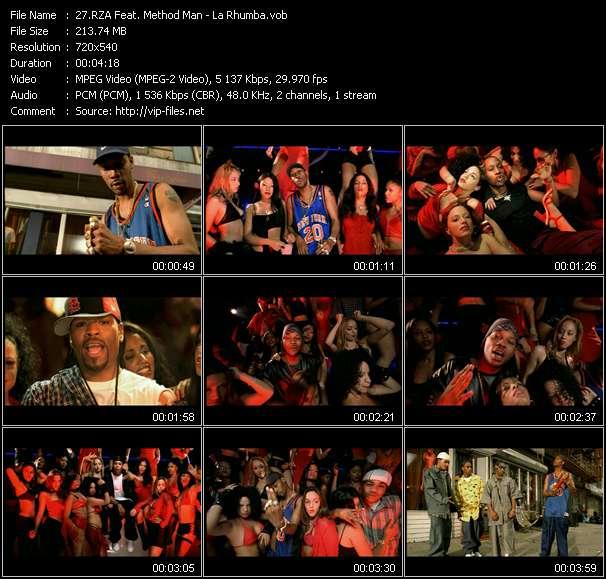 RZA Feat. Method Man - La Rhumba