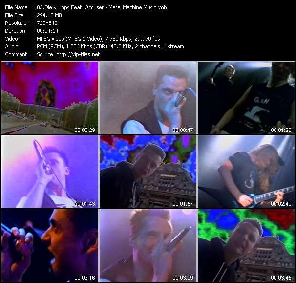 Die Krupps Feat. Accuser - Metal Machine Music