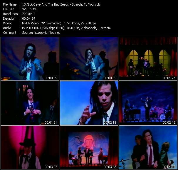 Nick Cave And The Bad Seeds - Straight To You