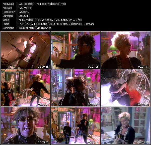 Roxette - The Look (Visible Mix)
