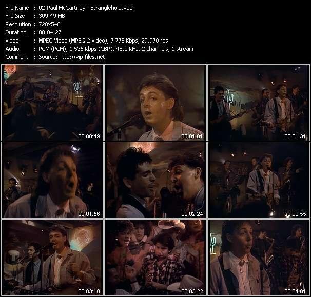 Paul McCartney - Stranglehold