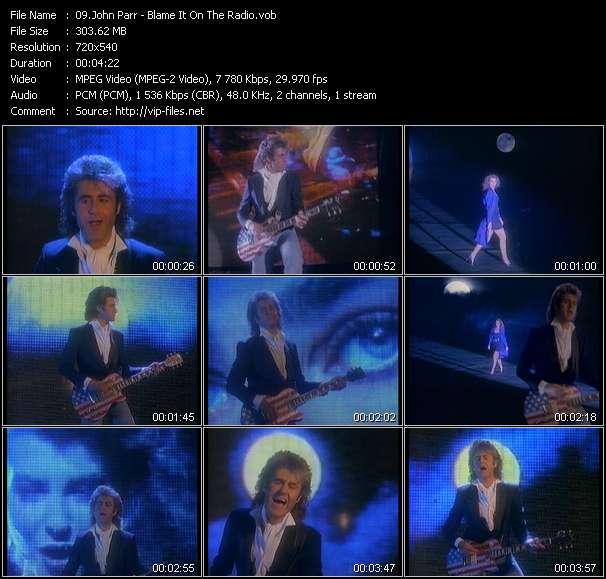 John Parr - Blame It On The Radio