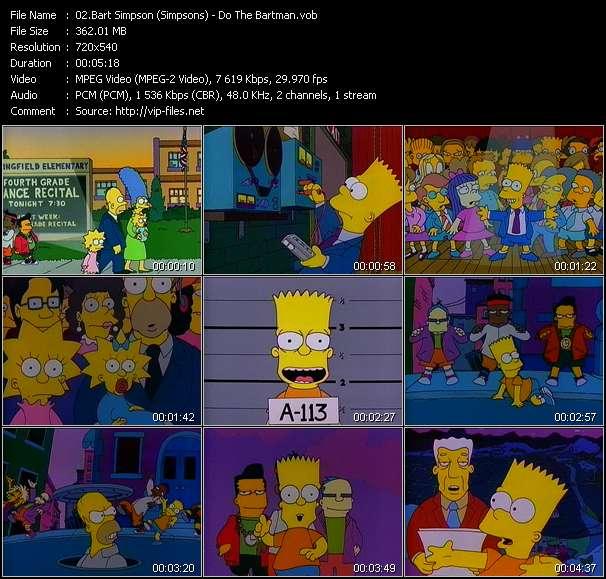 Bart Simpson (Simpsons) - Do The Bartman