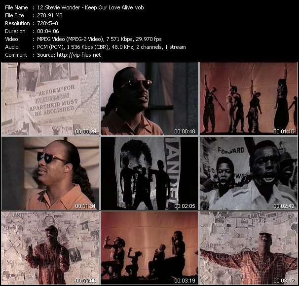 Stevie Wonder - Keep Our Love Alive