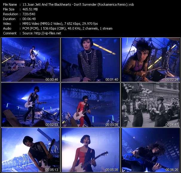 Joan Jett And The Blackhearts - Don't Surrender (Rockamerica Remix)