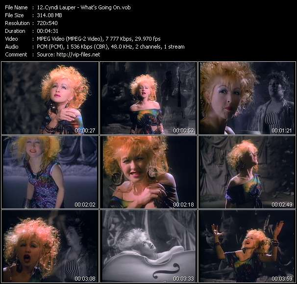 Cyndi Lauper - What's Going On
