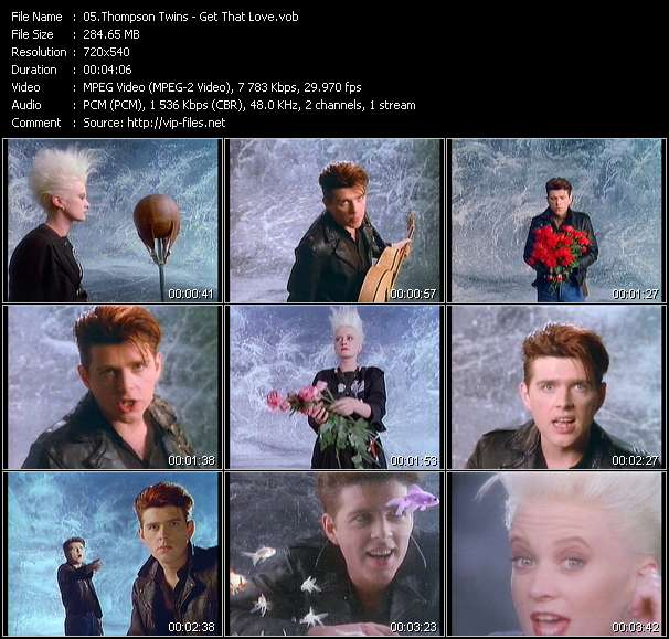 Thompson Twins - Get That Love