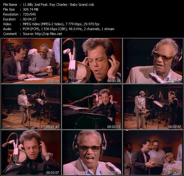 Billy Joel Feat. Ray Charles - Baby Grand