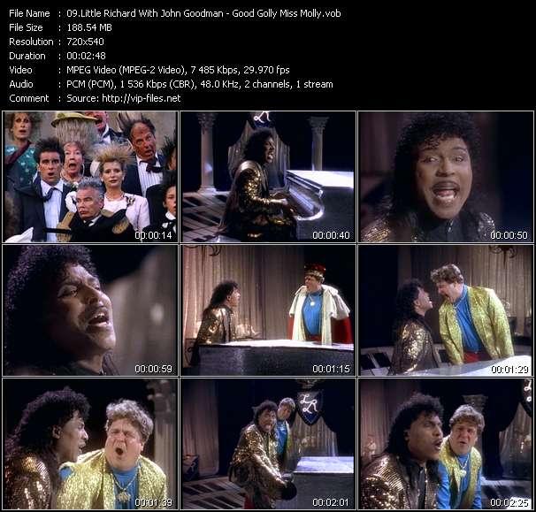 Little Richard With John Goodman - Good Golly Miss Molly