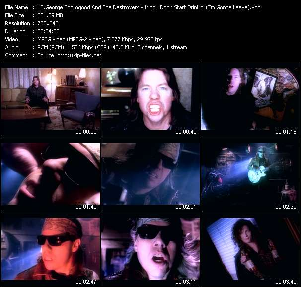 George Thorogood And The Destroyers - If You Don't Start Drinkin' (I'm Gonna Leave)