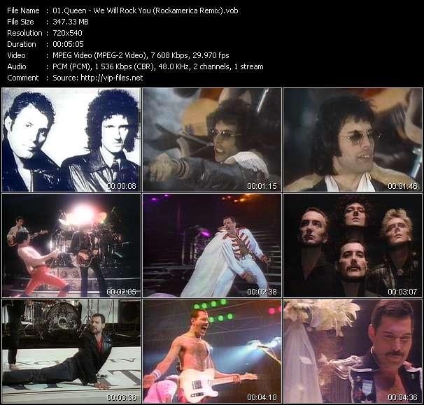 Queen - We Will Rock You (Rockamerica Remix)