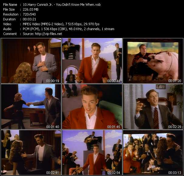 Harry Connick Jr. - You Didn't Know Me When