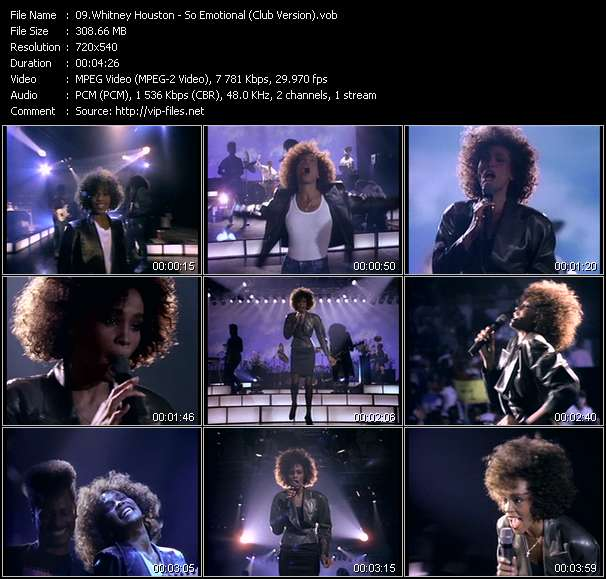 Whitney Houston - So Emotional (Club Version)