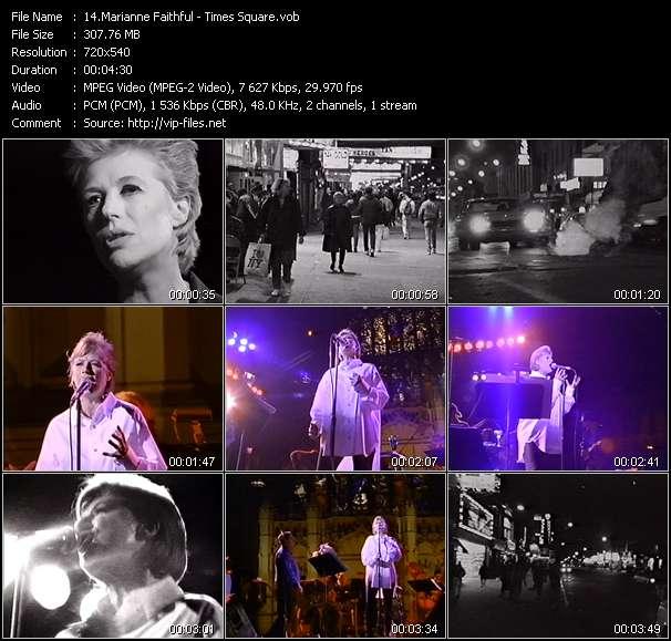 Marianne Faithful - Times Square