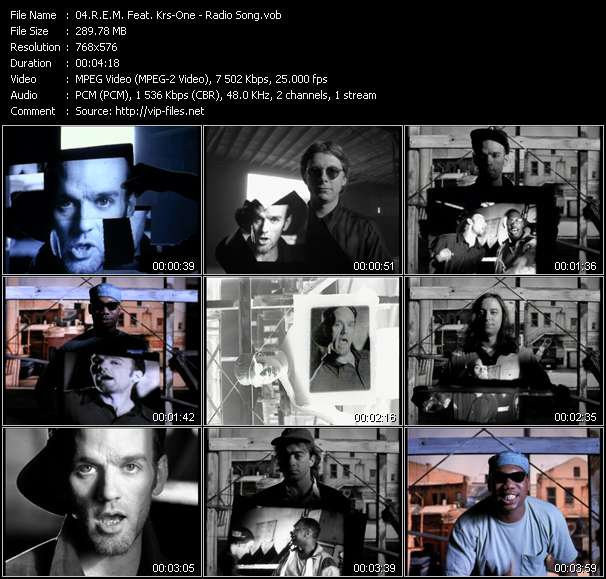 R.E.M. Feat. Krs-One - Radio Song