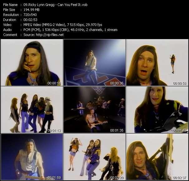 Ricky Lynn Gregg - Can You Feel It