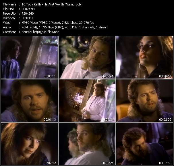 Toby Keith - He Ain't Worth Missing