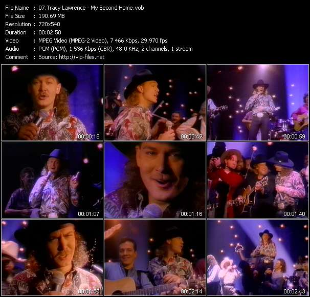 Tracy Lawrence - My Second Home