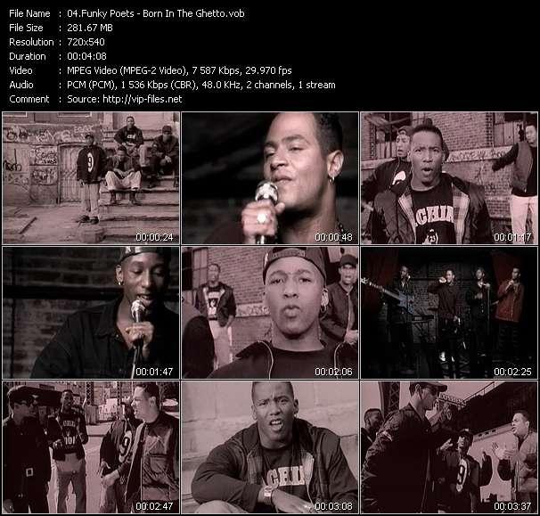 Funky Poets - Born In The Ghetto