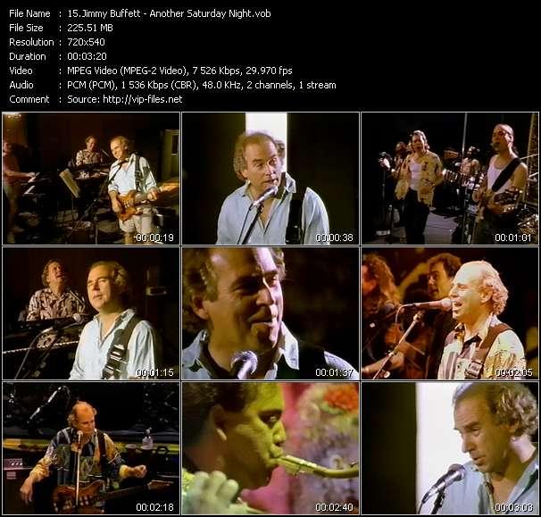 Jimmy Buffett - Another Saturday Night
