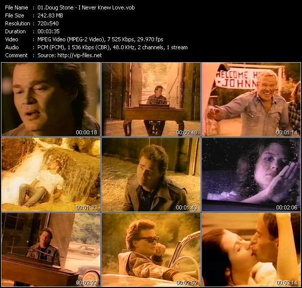 Doug Stone - I Never Knew Love