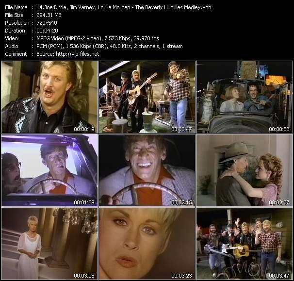 Joe Diffie, Jim Varney, Lorrie Morgan - The Beverly Hillbillies Medley