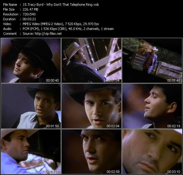 Tracy Byrd - Why Don't That Telephone Ring