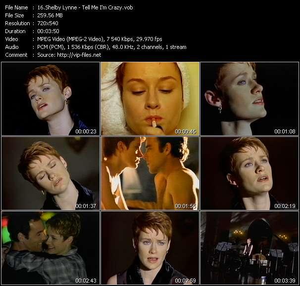 Shelby Lynne - Tell Me I'm Crazy
