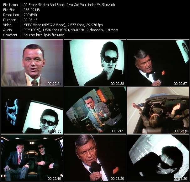 Frank Sinatra And Bono - I've Got You Under My Skin