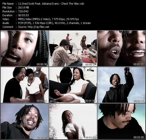 Dred Scott Feat. Adriana Evans - Check The Vibe