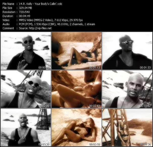 R. Kelly - Your Body's Callin'