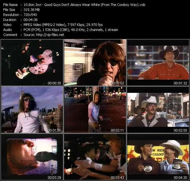 "Bon Jovi - Good Guys Don't Always Wear White (From ""The Cowboy Way"")"