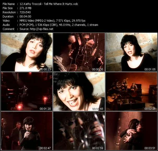 Kathy Troccoli - Tell Me Where It Hurts
