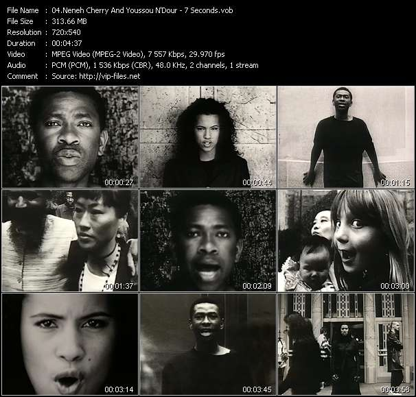 Neneh Cherry And Youssou N'Dour - 7 Seconds