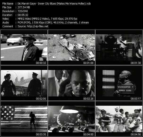Marvin Gaye - Inner City Blues (Makes Me Wanna Holler)