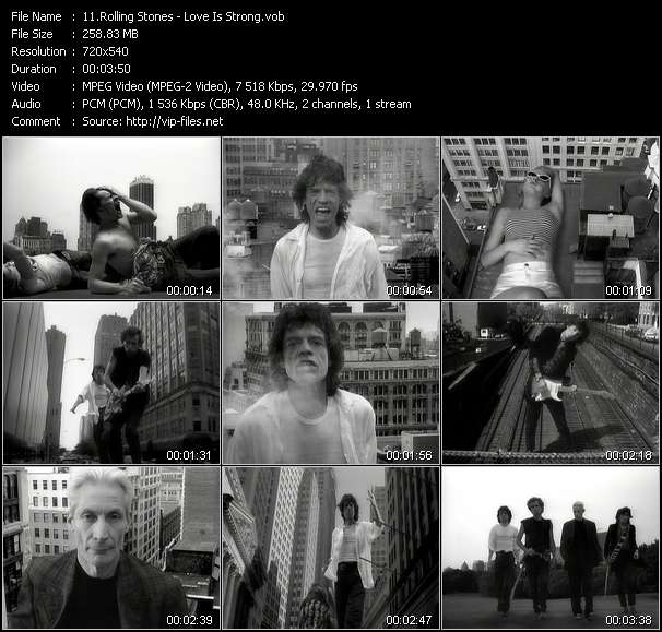 Rolling Stones - Love Is Strong