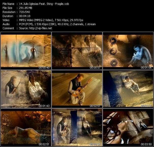 Julio Iglesias Feat. Sting - Fragile
