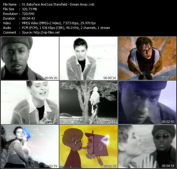 """Babyface And Lisa Stansfield - Dream Away (From """"The Pagemaster"""")"""
