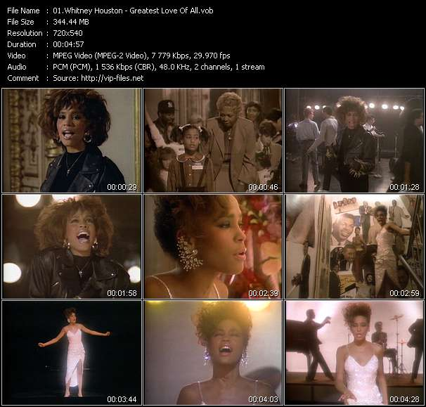 Whitney Houston - Greatest Love Of All