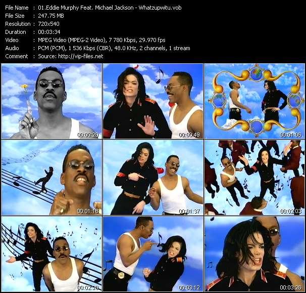 Eddie Murphy Feat. Michael Jackson - Whatzupwitu