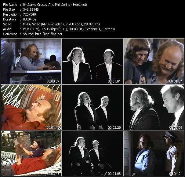 David Crosby And Phil Collins - Hero