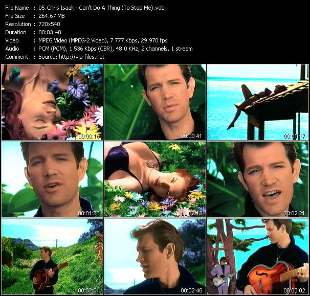 Chris Isaak - Can't Do A Thing (To Stop Me)