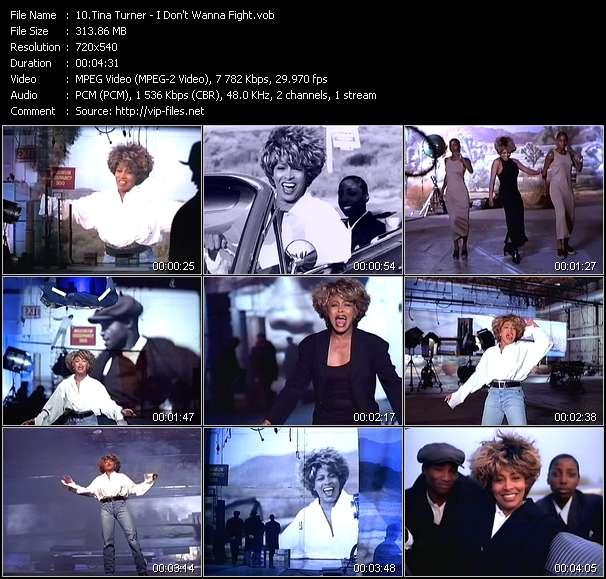 Tina Turner - I Don't Wanna Fight