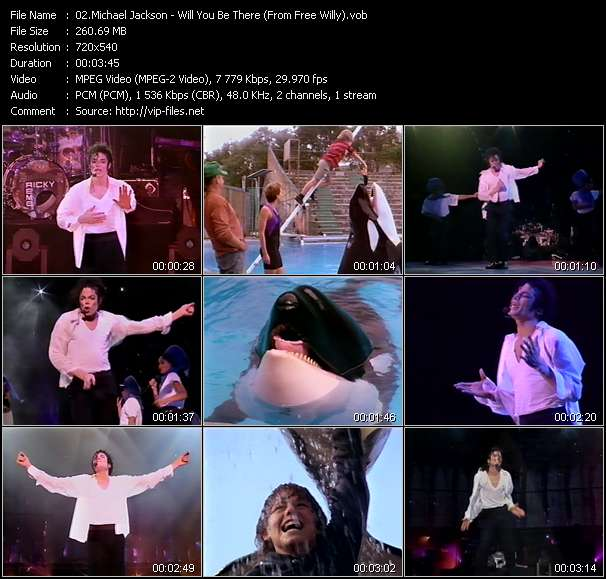 """Michael Jackson - Will You Be There (From """"Free Willy"""")"""