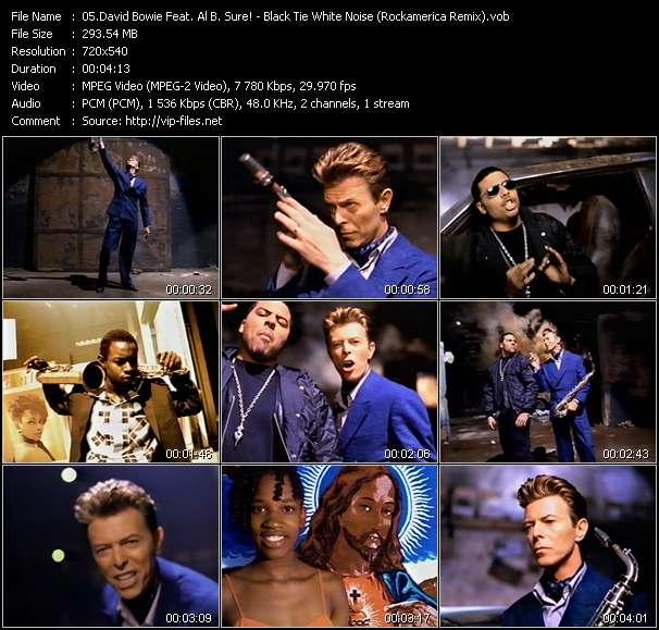 David Bowie Feat. Al B. Sure! - Black Tie White Noise (Rockamerica Remix)