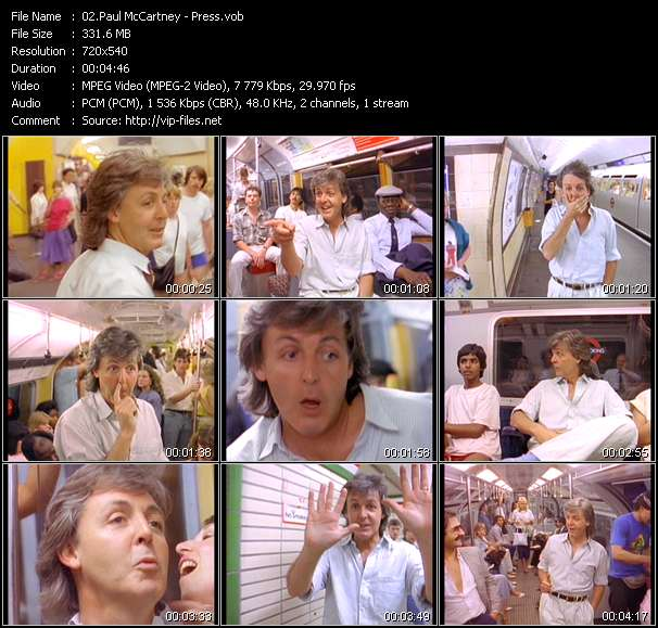Paul McCartney - Press
