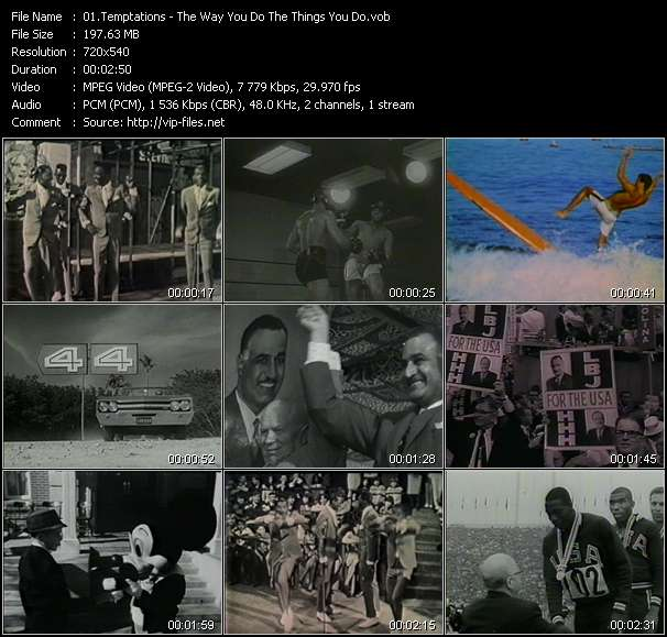 Temptations - The Way You Do The Things You Do