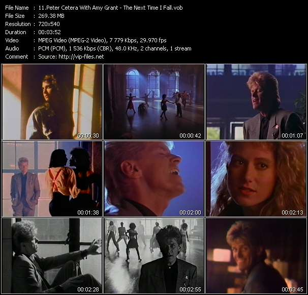 Peter Cetera With Amy Grant - The Next Time I Fall